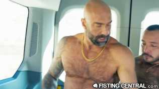 Mature Daddy Fucks and Fist Latino Hitchhiker – Fistingcentral